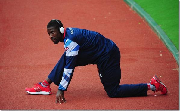 runner warming
