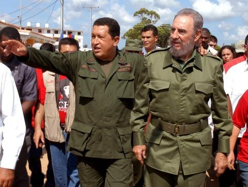CUBA - VENEZUELA- HUGO CHAVEZ - FIDEL CASTRO