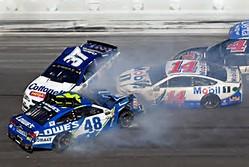 Daytona wreck