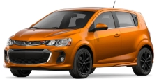 Chevy sonic orange