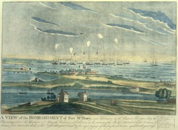 Ft McHenry painting