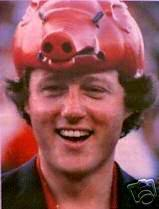 bill clinton razorbacks hat